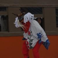 獅子舞の「しし」は鹿さんのようだ