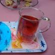 モッコウバラとお茶の時間