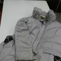 ダウンジャケット、クリーニングでキレイにします!