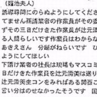 辻本清美さん正直になりましょう・・って無理な話か。