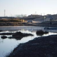 日本ライン管理釣り場でノックアウト食らった!!!