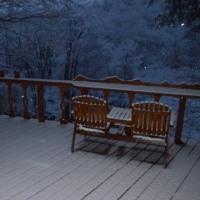 上雪(かみゆき)が降ると春は近い信州。