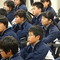五色台集団宿泊学習 最終日の様子