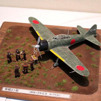長崎プラモ・クレイジー2017飛行機モデル作品展 1