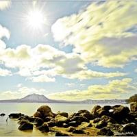 今日の支笏湖・・・。