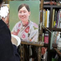 第64回全日肖展に向けて皆さん頑張っています「吉田肖像美術」