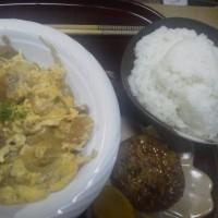 昨日の娘飯 カツカツとじ&豆腐ハンバーグ(゚д゚)ウ-(゚Д゚)マー(゚A゚)イ-…ヽ(゚∀゚)ノ…ゾォォォォォ!!!!