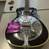 新しいギターの弦を張り替えるっ!