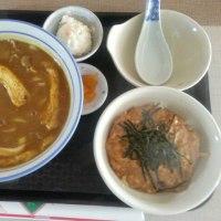 山手 えびすや (シンシア山手) ~ カレーうどん&親子丼(小) ※館内停電中です ~