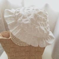 グログランリボン ベビー 帽子 ♡