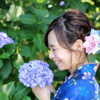 2016/06/18 紫陽花前の再会 大沢真理恵さん(1)