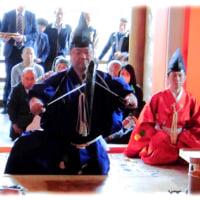 北摂の春の歳時記(^^♪室町時代から伝えられている 茨木の総持寺の「山蔭流庖丁式」