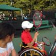 車椅子テニスを通じて Wheelchair tennis