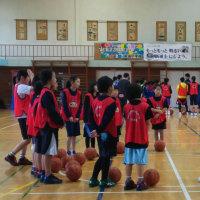 3月19日 ミニバス練習 in 新通 & アルビバスケ教室