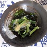 青ネギとわかめのぬた和え・ちりめん山椒・・・飯村直美料理教室