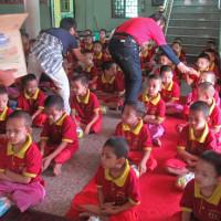 ミヤンマー ヤンゴン市内の寺小屋 4