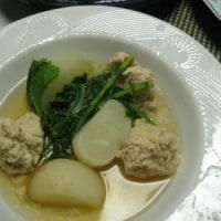 我が家の定番 鶏団子と蕪のブイヨン煮