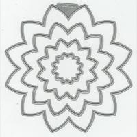 花のダイ(dies)はnesting flowers・ cutting dies<shopWA・ON>
