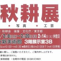 秋耕展が東京で開催中!