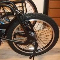 二人乗り自転車の旅・・・パーツの交換?