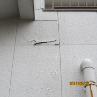 鳥取自宅の外壁がはがれてきました