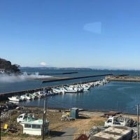 2487)千葉彷徨 富津市(上総湊漁港と湊川河口)
