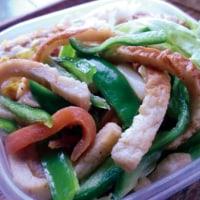 青椒竹(肉)絲弁当