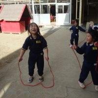 みどり 4歳児 体育館活動・戸外遊び