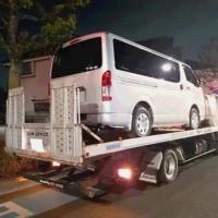 納車準備が完了した新車「ハイエースV」のナンバー取得にトヨタ店へ!