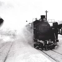 蒸気機関車 宗谷本線名寄駅