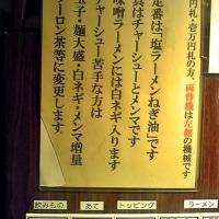今回の〆はこちら・・(宗家一条流 がんこラーメン十八代目 @なんば)