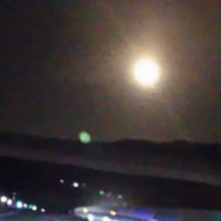 今夜の月はきれいでした(^-^)