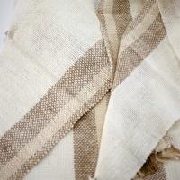 三河地棉で織った新作