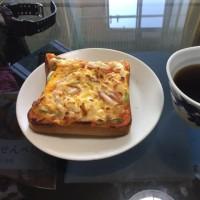 5月20日休日の朝食