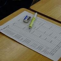 放課後、縦割り練習・委員会係準備