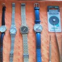 動き出した腕時計。