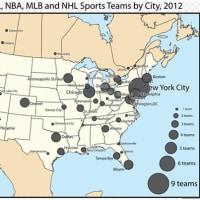 州を覚える  3  4大プロスポーツ