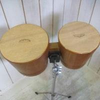 「マウンテンリズム ボンゴ カホン 太鼓 タイコ 楽器 パーカッション KIKUTANI スタンド」を買取させていただきました!!