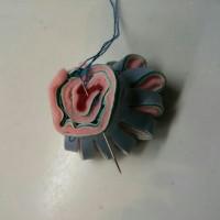 ✿フェルトのお花、増殖中。(工程画像付)