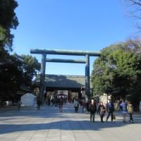 2017年1月3日 靖国神社で初詣