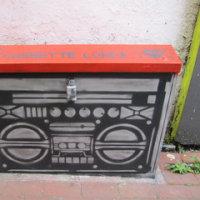 謎のグラフィティたち-Cassette Lord in Brighton-