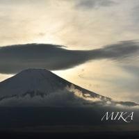 2.22 猫の日の富士山。。。サンマ雲☆