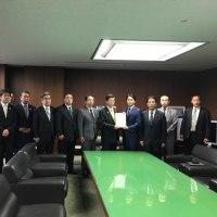 石井啓一国土交通大臣を訪問