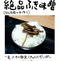 絶品ふき味噌