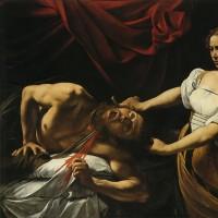 カラヴァッジョ 「ホロフェルネスの首を切るユディト」