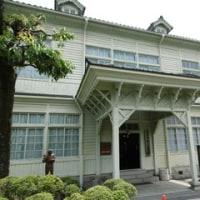 備中松山城を見た後、岡山県高梁市を散策しました。武家屋敷や明治に建築された建物を見ました