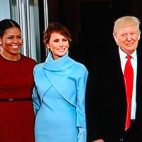 大統領交代の日、 Jan 20 The Inauguration of Donald Trump