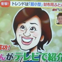お財布ふとん 『ドデスカ』放送から二日目