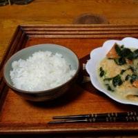 2月23日夕 鶏肉のクリーム煮