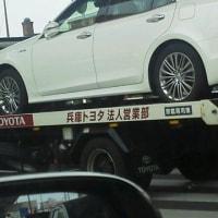 なぬ?兵庫ナンバーのトヨタさんが福岡市内南区を・・・・・やるじゃん(笑)